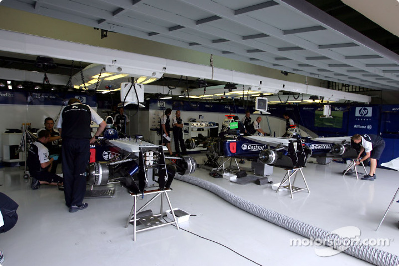 Zona de garage de Williams-BMW