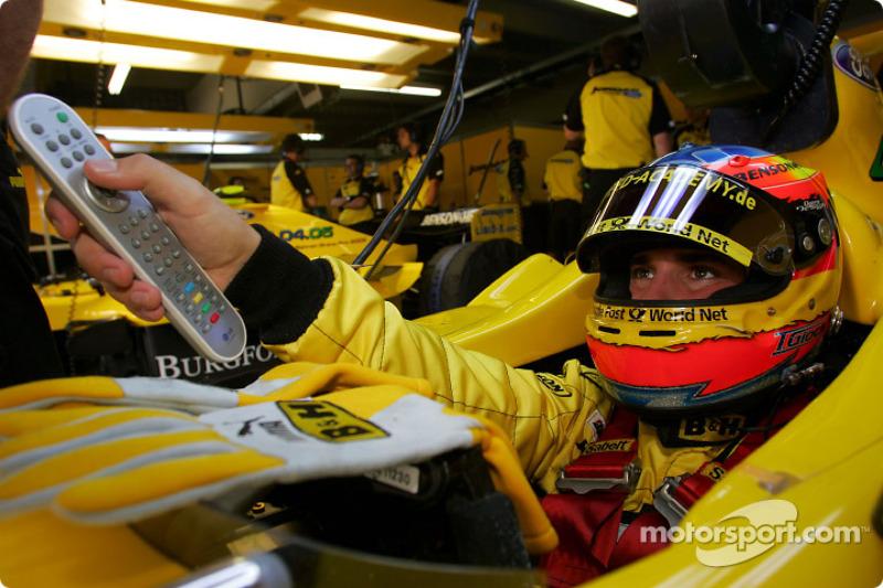 2004 год. Тимо Глок. 4 гонки в Jordan