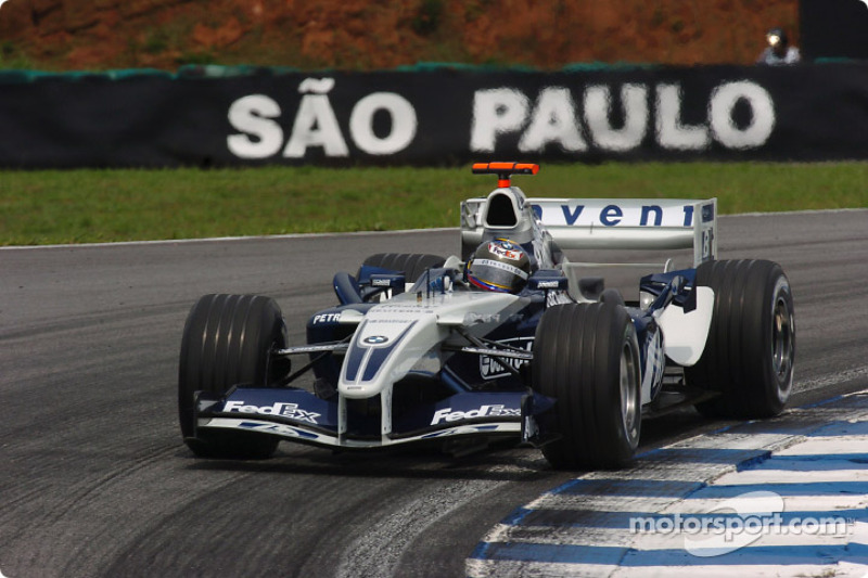 2004 : Juan Pablo Montoya, Williams-BMW FW26B