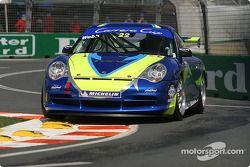 Jonathan Webb dans sa Porsche GT3-911