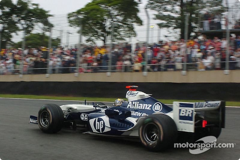 2004. Інтерлагос. Переможець: Хуан-Пабло Монтойя, Williams FW26 BMW