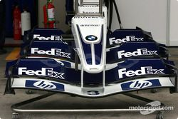 Williams-BMW ön kanats ready to go