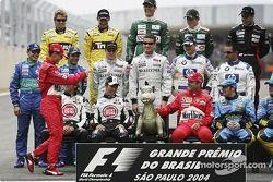 Drivers, 2004 Dünya Şampiyonası fotoğraf çekimi: here'in man�������