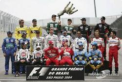 Drivers, 2004 Dünya Şampiyonası fotoğraf çekimi: everybody break into a laugh