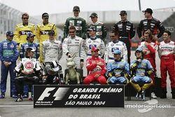Drivers, 2004 Dünya Şampiyonası fotoğraf çekimi: where is Michael?