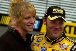 Matt Kenseth avec sa femme Katie
