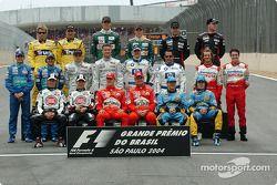 Drivers, 2004 Dünya Şampiyonası fotoğraf çekimi