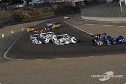 Départ : La DBA Zytek n°27 Creation Autosportif : Nicolas Minassian, Jamie Campbell-Walter devant le