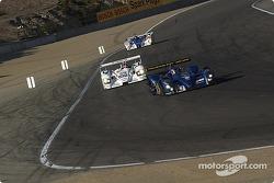 La DBA Zytek n°27 Creation Autosportif : Nicolas Minassian, Jamie Campbell-Walter devant la Audi R8