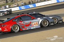 La Porsche 911 GT3 RSR n°43 BAM! : Leo Hindery, Lucas Luhr, Sascha Maassen, et la Porsche 911 GT3 RS