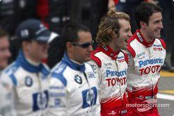 Drivers, 2004 Dünya Şampiyonası fotoğraf çekimi: Jarno Trulli ve RiCardo Zonta