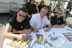 Piers Masarati, Ian Donaldson and Liz Halliday