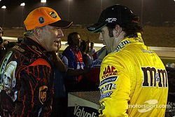Dale Jarrett y Elliott Sadler