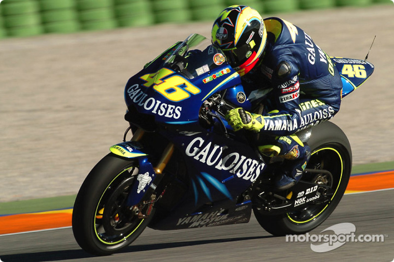 2004: Valentino Rossi, Gauloises Yamaha