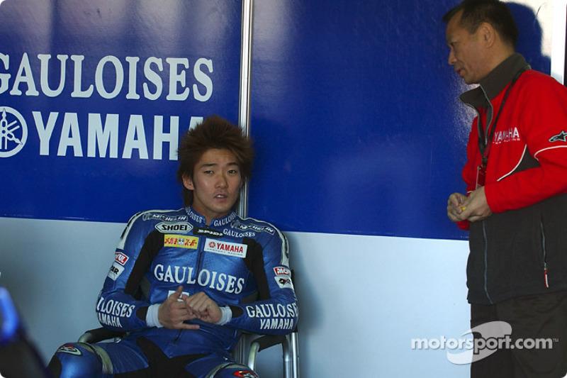 Norick Abe, Tech 3 Yamaha