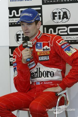 Press conference: Marcus Gronholm
