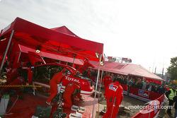 Área de servicio de Marlboro Peugeot Total