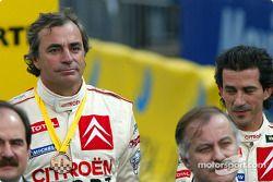 Podium: third place Carlos Sainz and Marc Marti