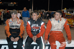 Teddy Beach, Aaron Fike et Scott Thoman
