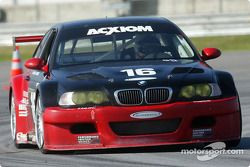 La BMW M3 n°16 Prototype Technology Group : Tom Milner, Kelly Collins