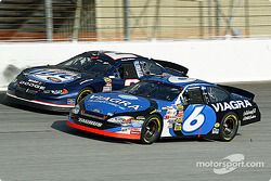 Mark Martin and Rusty Wallace