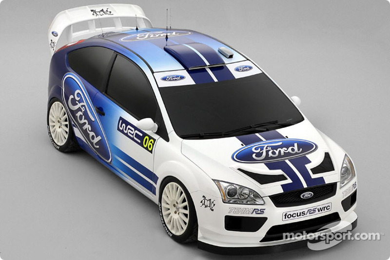 The new Ford Focus WRC Concept