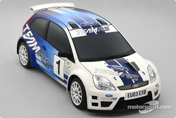 The new Ford Fiesta JWRC Concept