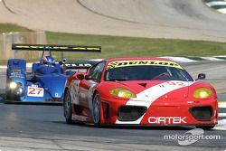 La Ferrari 360 Modena GTC n°92 Cirtek Motorsport : Andrea Montermini, Andrew Kirkaldy, Frank Mountai