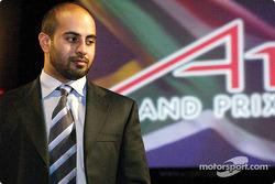 His Highness Sheikh Maktoum Hasher Maktoum Al Maktoum (UAE) CEO A1 Grand Prix