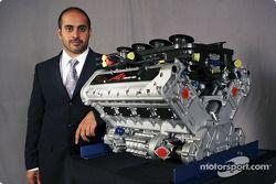 His Highness Sheikh Maktoum Hasher Maktoum Al Maktoum (UAE) CEO et President de A1 Grand Prix