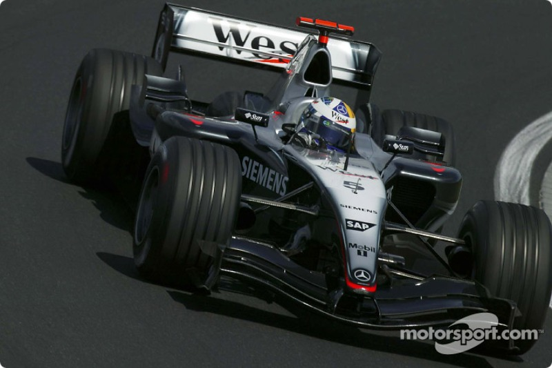 David Coulthard, McLaren MP4/19B (2004)