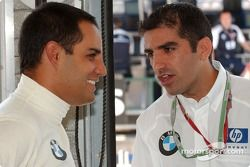Juan Pablo Montoya y Marc Gene