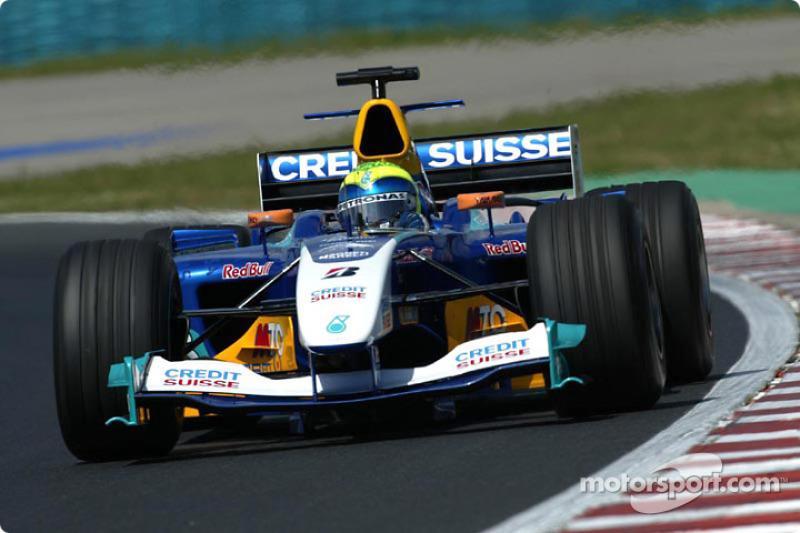 2004 : Sauber C23, à moteur Petronas (Ferrari)