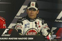 basın toplantısı: Takuma Sato