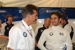 Dr Mario Theissen ve Antonio Pizzonia
