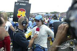 Fernando Alonso gridde
