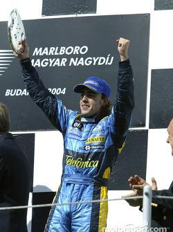 Podio: Fernando Alonso