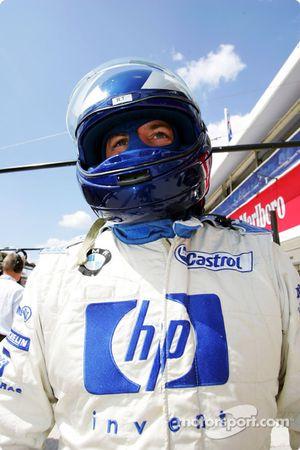 Williams-BMW pit ekibi member