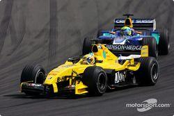 Giorgio Pantano y Felipe Massa