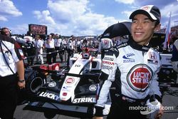 Takuma Sato gridde