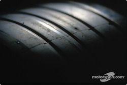Detalle de un neumático