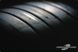 Detail of a tire