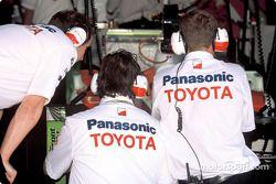 Toyota team members at work