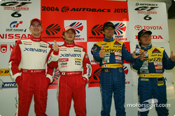 Winners GT500 and GT300