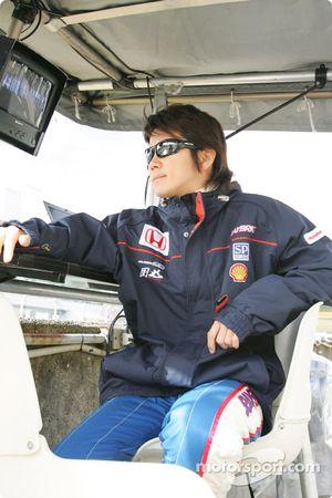 Honda NSX : Shinji Nakano