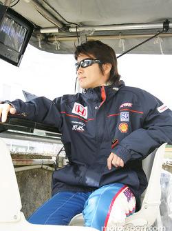 Honda NSX: Shinji Nakano
