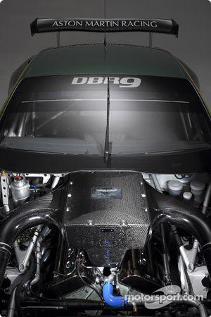 The new Aston Martin Racing DBR9 engine