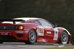 La Ferrari 360 Modena GTC n°92 Cirtek Motorsport : Andrea Montermini, Andrew Kirkaldy, Frank Mountain