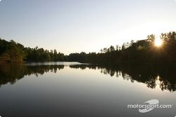 One of the many stunning lakes in the Road Atlanta area