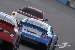 Ryan Newman behind the pace car